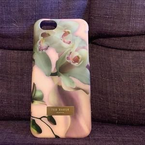 Ted Baker pink orchid iPhone 6s hard case.